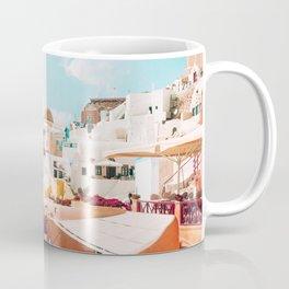 Santorini Glance Coffee Mug