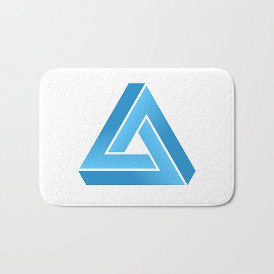 Impossible triangle Bath Mat