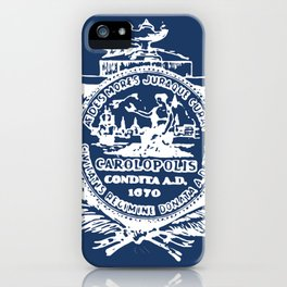 flag of Charleston iPhone Case