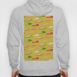 Breakfast Pattern Hoody