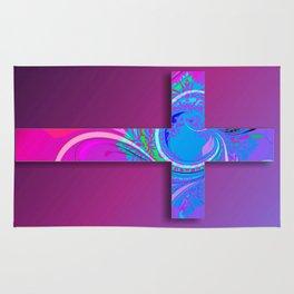 Decorative Cross 2 Rug