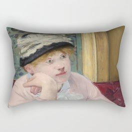 Manet,Fine Art,Beautiful,Wall Art,Framed,Poster,Canvas,Prints,Notebooks,Card,Gift,Gifts,Special,Rare Rectangular Pillow