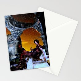 The Night of Forgotten Songs Stationery Cards