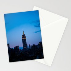 Empire State Building at Sunset Stationery Cards