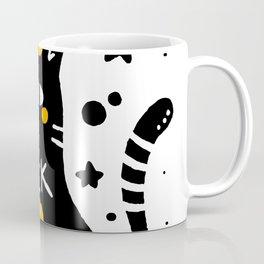 Cute Cartoon Cat Coffee Mug