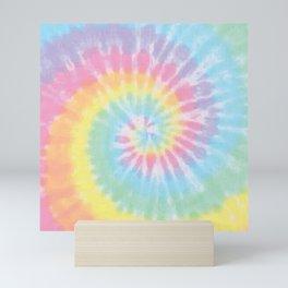 Pastel Tie Dye Mini Art Print