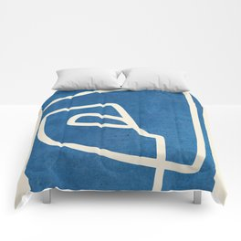 abstract minimal 57 Comforters