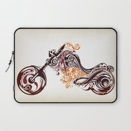 Abstract Motorcycle Laptop Sleeve