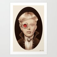 "steampunk Art Prints featuring ""Steampunk"" by Giulio Rossi"