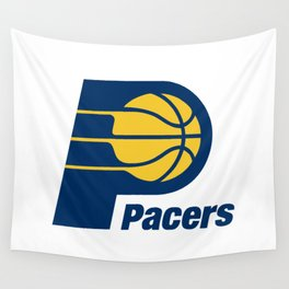 Indiana Pacer Logo Wall Tapestry