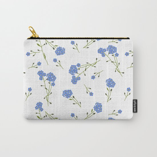 Forget me not II Carry-All Pouch