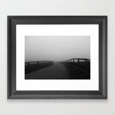 Withens Mist Framed Art Print