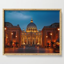 Papal Basilica of St. Peter in the Vatican Serving Tray