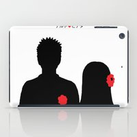 naruto iPad Cases featuring He ♥ She by RaJess
