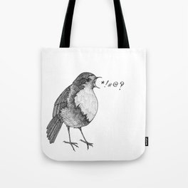 robin takes offense Tote Bag