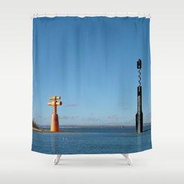 Headland 02 Shower Curtain