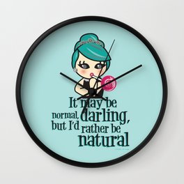 At Tiffany's Wall Clock