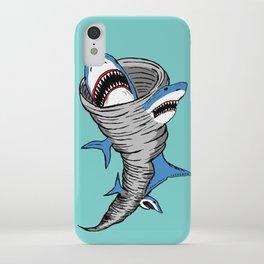 Shark Tornado iPhone Case