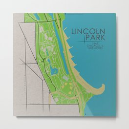 Chicago - Lincoln Park Metal Print