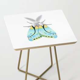 Blue Moth Side Table