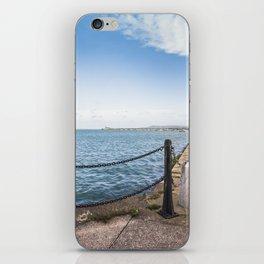 Dun Laoghaire pier iPhone Skin