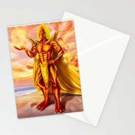 Dwain God of fire Stationery Cards