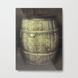 Old German wine barrel Metal Print