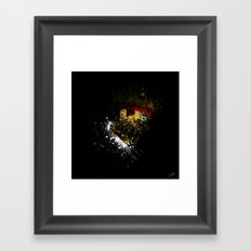 Evil R. Framed Art Print