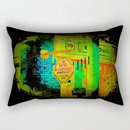 Borough Market  -  London, England Rectangular Pillow