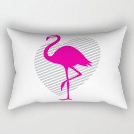love flamingos Rectangular Pillow