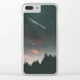 Stars II Clear iPhone Case