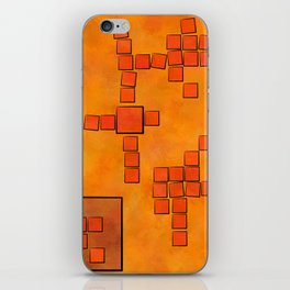 Elsemphiros - mosaic world iPhone Skin