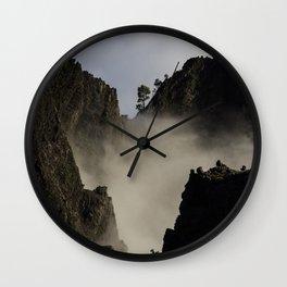 Vertical Lanscape Wall Clock