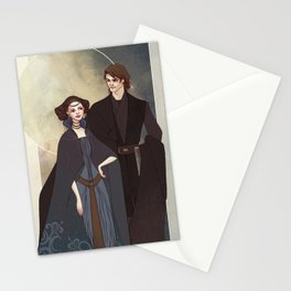 The senator and the general Stationery Cards