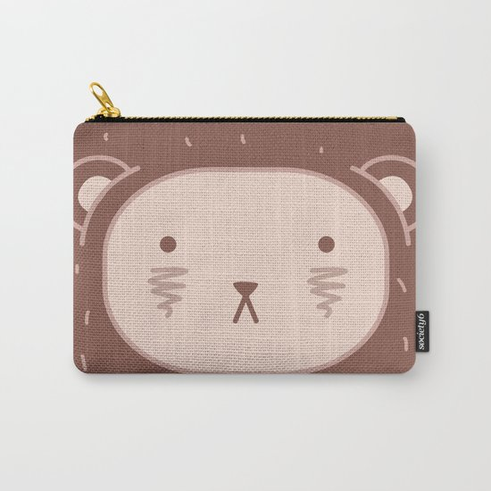 WILD + BEAR print Carry-All Pouch