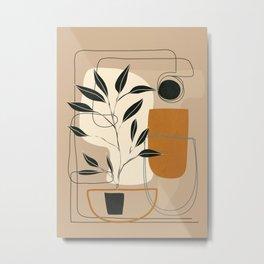 Abstract Shapes 06 Metal Print
