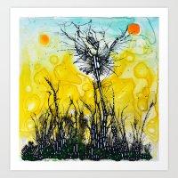 tim shumate Art Prints featuring Tim Burton by Jose Luis