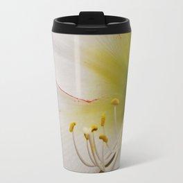 White Amaryllis Travel Mug