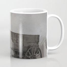 Left Behind - An Old Wagon Coffee Mug