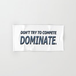 DOMINATE Hand & Bath Towel