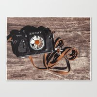 photographer Canvas Prints featuring photographer by Olga FoxFang