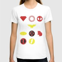 super heroes T-shirts featuring Super Simple Heroes by Resistance