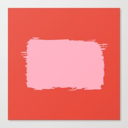 Crimson Swatch Canvas Print