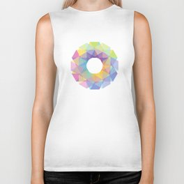 Fig. 036 Colorful Circle Biker Tank
