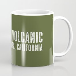 Deer: Lassen Volcanic, California Coffee Mug