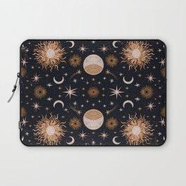 Moon Sun Stars Laptop Sleeve