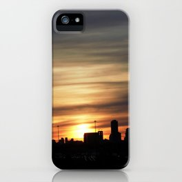 Sunset Toronto iPhone Case