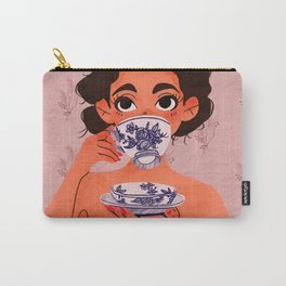 Stay Classy Drink Tea Carry-All Pouch