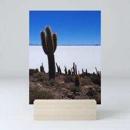 Salar de Uyuni 2 Mini Art Print