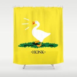 Don't Honk on Me Shower Curtain